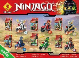 6 конструкторов SLtoys Ninjago SL8936 (аналог Lego Ninjago)