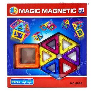 Конструктор MAGIC MAGNETIC 14 деталей