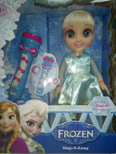 Кукла FROZEN Эльза + микрофон, арт. 5081е, музыкальная