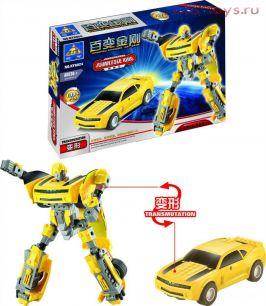 Конструктор KAZI Робот-трансформер 8024 139 дет.