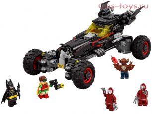 Конструктор SLtoys Бэтмобиль SY873 (Аналог LEGO Batman Movie 70905) 637 дет.