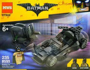 Конструктор MWS Batman 81908 (Аналог LEGO Batman Movie) 235 дет.