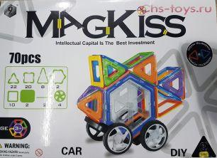 Магнитный конструктор Magkiss 70 деталей