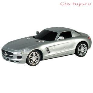 Р/у 1:28 Mercedes-Benz-SLS-AMG LC296810-8 Машина на батарейках, в коробке AULDEY