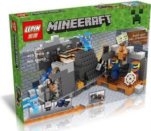 Конструктор LEPIN Minecraft Портал в Край 18002 (Реплика Lego Minecraft 21124 ) 469 дет.