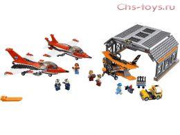 Конструктор LEPIN Cities Авиашоу 02007 (Аналог LEGO City 60103) 723 дет
